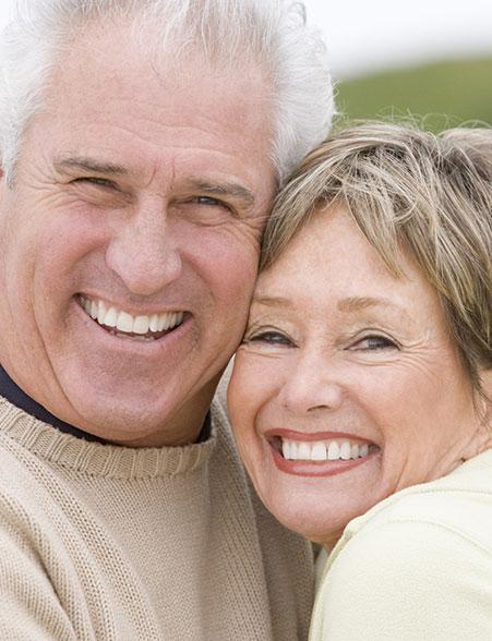 dieses Foto zeigt ein älteres Paar